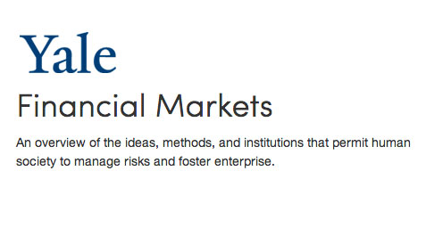 free stock market courses for beginners Shiller Yale