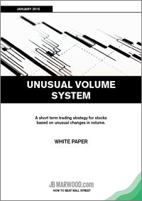 Unusual Volume system white paper