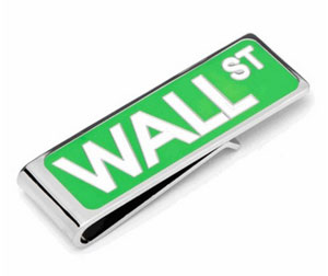 wall street money clip