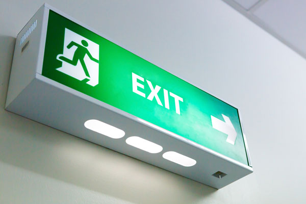how to exit a trade