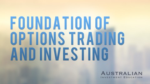 foundations of options trading course AIE